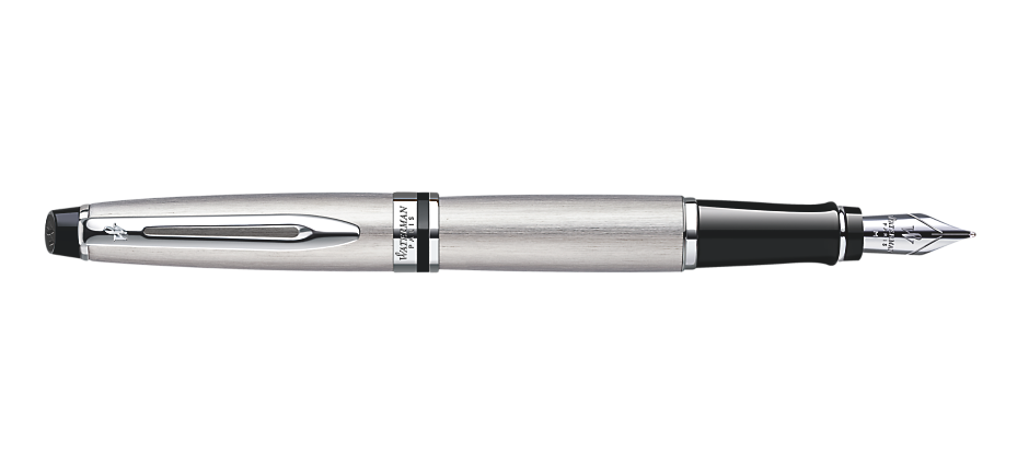 Bút Waterman EXPERT Stainless Steel Fountain Pen CT
