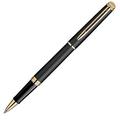 Bút bi Waterman Hemisphere Rollerball Pen, Matte Black with Gold Trim