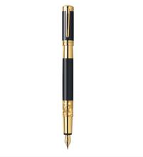 Bút máy Waterman Elegance Black Lacquer with Gold Trim - Ngòi M - S0898630