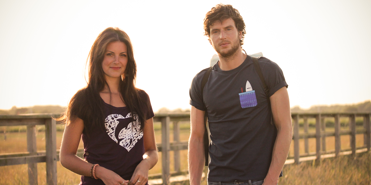 Kahna Surf T-Shirts made in the UK