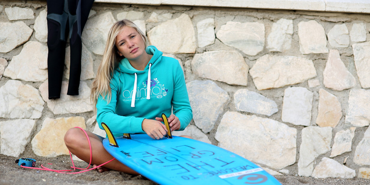 Hoodies and t-shirts surf style from Animal UK.