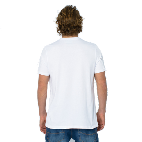 Animal Men's T-Shirt Laha Design in White.