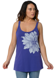 Animal Womens Top Clementia Design in Blueberry.