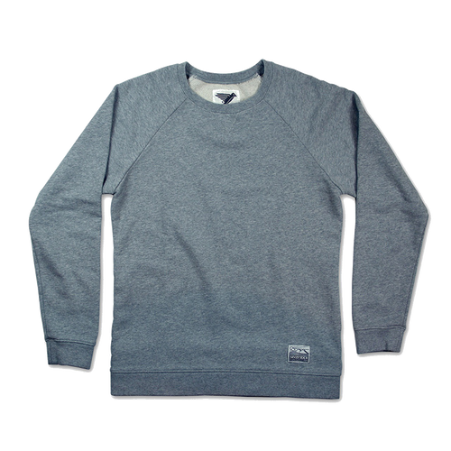 Silverstick Womens Sweat Shirt Beau Design in Ash.