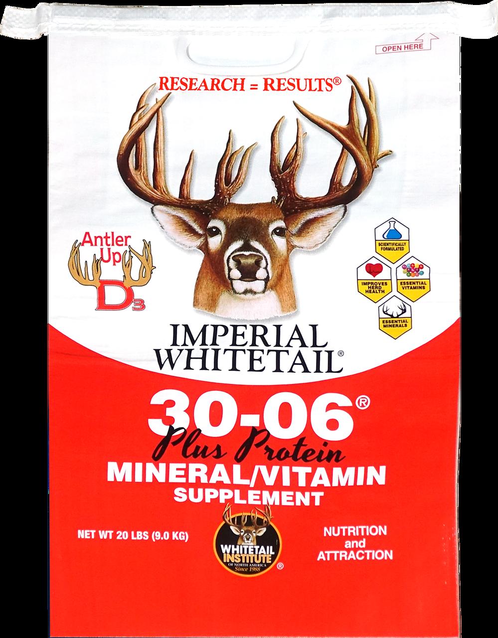 30 06 Mineral Vitamin Plus Protein Whitetail Institute