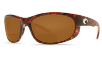 Costa Del Mar™ Polarized Bi-Focal Readers: Howler in Tortoise & Dark Amber