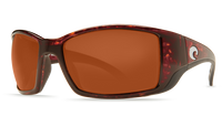 Costa Del Mar™ Polarized 580G Sunglasses: Blackfin in Tortoise & Copper Lens