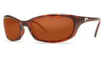 Costa Del Mar™ Polarized 580G Sunglasses: Harpoon in Tortoise & Copper Lens
