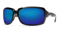 Costa Del Mar™ Polarized 580G Sunglasses: Isabela in Black & Blue Mirror Lens