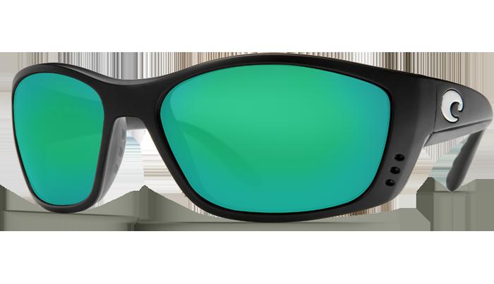 1e733bd5cd048 Costa Del Mar™ Polarized 580G Sunglasses  Fisch in Black   Green ...
