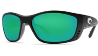 Costa Del Mar™ Polarized 580G Sunglasses: Fisch in Black & Green Mirror Lens