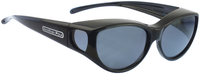 Jonathan Paul® Fitovers Eyewear Medium Ikara in Midnite-Oil & Gray IK001