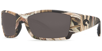 Costa Del Mar™ Polarized 580G Sunglasses: Corbina in Mossy Oak Shadow Blades Camo & Grey Lens