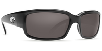 Costa Del Mar™ Polarized 580G Sunglasses: Caballito in Black & Grey Lens