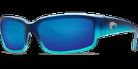 Costa Del Mar Caballito 580G Polarized Sunglasses in Matte Caribbean Fade with Blue Mirror Lens