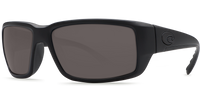 Costa Del Mar Fantail 580P Polarized Sunglasses in Blackout with Grey Lenses