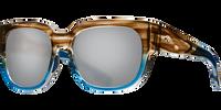 Costa Del Mar Waterwoman Polarized Sunglasses in Wahoo Grey with Silver Mirror 580P Lens
