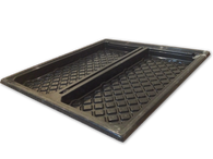 NFT Hydroponics Grow Tray (1.1m x 1m) Incl Correx Board - for Plants, Fodder Grass & seedlings