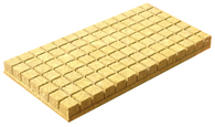 Grodan Rockwool 25/40 AO Blocks for seedlings - 100 Blocks