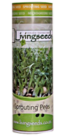 Sprouting Peas Seeds  (200g Tube)