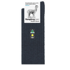 Humphrey Law Alpaca Health Sock Charcoal 01C
