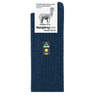Humphrey Law Alpaca Health Sock Denim 01C