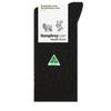 Humphrey Law Wool/Bamboo Sock Black/Brown