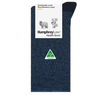 Humphrey Law Wool/Bamboo Sock Denim