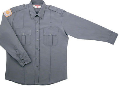 ab69cdeeb Gray Academy Long Sleeve Shirts. Image 1. Loading zoom