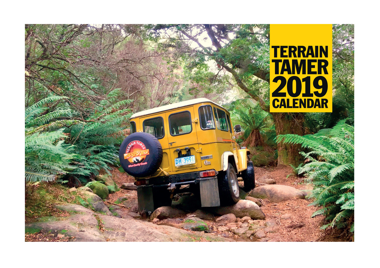 Terrain Tamer 2019 Calendar