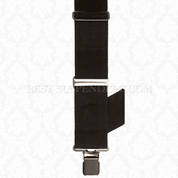 Side Clip Suspenders Black
