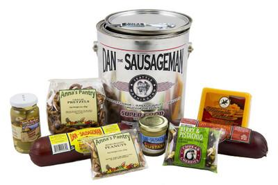 Sausage Cheese Pail Gift