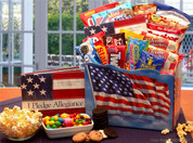 Patriotic Gift Basket