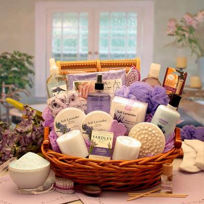 Womens Lavender Splash Spa Gift