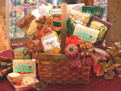 Blessed Harvest Gift Basket