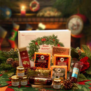 Holiday Gourmet Cheese & Meats Selection Gift