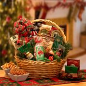 Holiday Celebrate Christmas Gift Basket Small