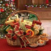 Beautiful Bounty Christmas Gift Basket