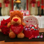Cupids Chocolate Valentine Gift