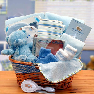 Baby Love Gift Basket - Boy