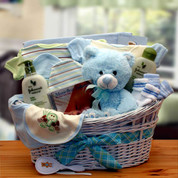 Baby Luxury Boy Organic Gift Basket
