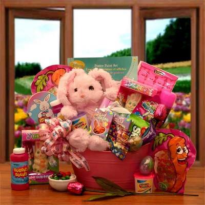 Girls Little Bunny Easter Gift