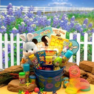 Bunny Blue Fun Easter Gift