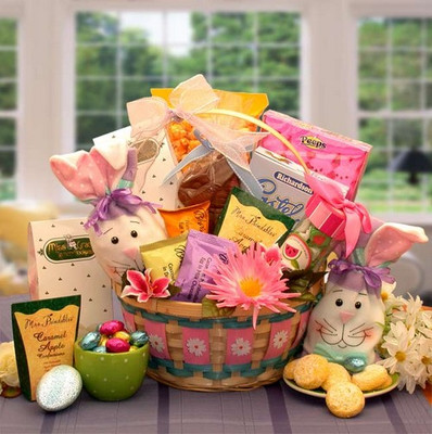 Celebrate Easter Gift Basket For Her