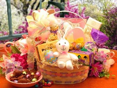 Easter Treats Gift Basket