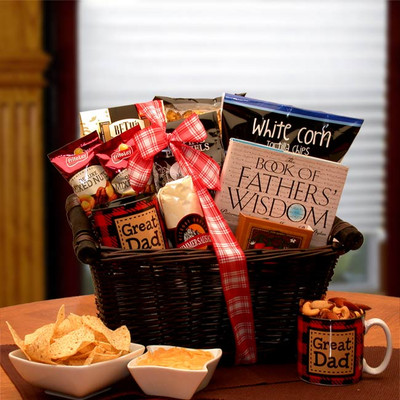 Wisdom of Father Gift Basket
