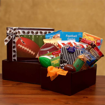 Football Fanatic Dad Gift Box