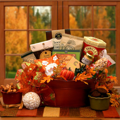 Welcome Fall Gourmet Gift Basket