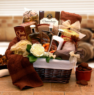 Rejuvenate Spa Gift Basket for Women