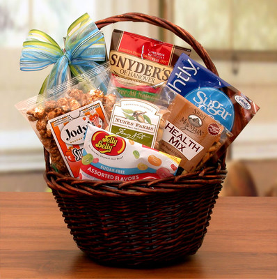 Sugar Free Treats Mini Gift Basket